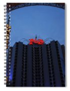 Down Town Las Vegas Spiral Notebook