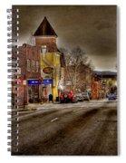Down Town Lexington Va Spiral Notebook
