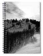 Downhill Spiral Notebook