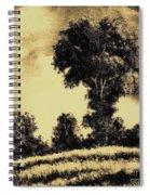 A Spring Shower Spiral Notebook