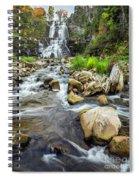 Downstream From Chittenango Falls Spiral Notebook