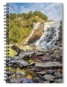 Downstream From Ithaca Falls Spiral Notebook