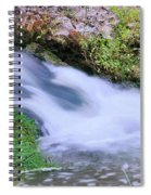 Downstream Spiral Notebook
