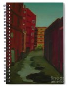 Downtown Alley-portland Maine Spiral Notebook