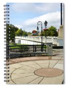 Downtown Binghamton Ny Confluence Park Spiral Notebook