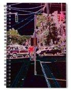 Downtown Eclipse Spiral Notebook