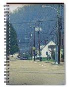 Downtown Harlan Spiral Notebook