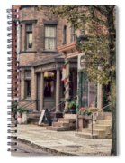 Downtown Jim Thorpe, Pa. Spiral Notebook