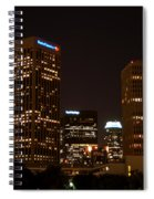 Downtown L.a. In Hdr Spiral Notebook