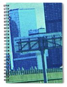 Downtown Left 3-4 Mile Spiral Notebook