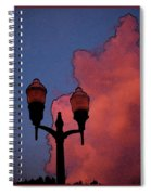 Downtown Lights Spiral Notebook