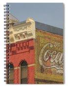 Downtown Livingston Montana Spiral Notebook