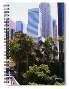 Downtown Los Angeles. 6th Street Spiral Notebook