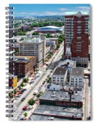 Downtown Manchester Spiral Notebook