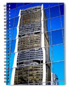 Downtown Montreal Spiral Notebook
