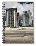 Downtown Orlando, Florida Spiral Notebook