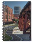 Downtown Paradox Spiral Notebook