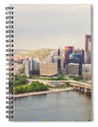 Downtown Pittsburgh Pennsylvania Spiral Notebook