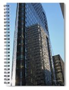 Downtown Reflections Spiral Notebook