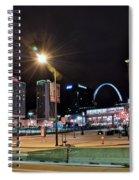 Downtown Saint Louis Spiral Notebook