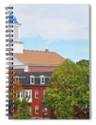 Downtown Salem Ma Spiral Notebook