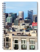 Downtown San Francisco Spiral Notebook