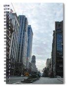 Downtown San Francisco - Market Street Spiral Notebook