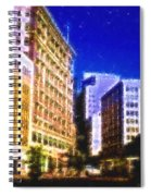 Downtown Seattle  Spiral Notebook
