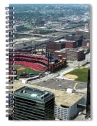 Downtown St. Louis 2 Spiral Notebook