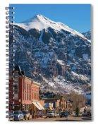 Downtown Telluride Spiral Notebook
