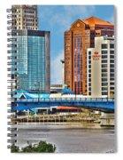 Downtown Toledo Riverfront Spiral Notebook
