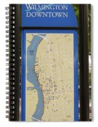 Downtown Wilmington Spiral Notebook
