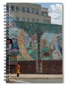 Downtown Winston Salem Series V Spiral Notebook