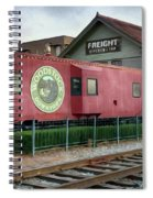 Downtown Woodstock Spiral Notebook