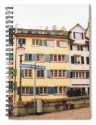 Downtown Zurich Switzerland Spiral Notebook