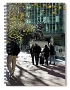 Downtownscape Spiral Notebook