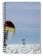 Downwind Spiral Notebook