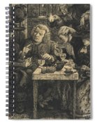 Dr Johnson At The Mitre Spiral Notebook