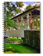 Dr. Knisley Covered Bridge Spiral Notebook