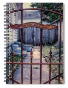 Dr. Lines Gate - Nola Spiral Notebook