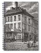 Dr. Samuel Johnson S Birthplace In Spiral Notebook