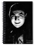 Dracula In The Shadows Spiral Notebook