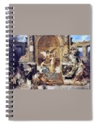 Draft Curtain Theatre In Krakow 1894 2 Henryk Semiradsky Spiral Notebook