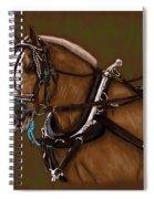 Draft Horse Spiral Notebook