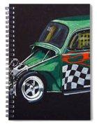 Drag Racing Vw Spiral Notebook