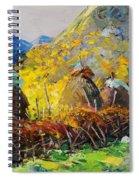 Dragobia Of Legends, Valbona Spiral Notebook