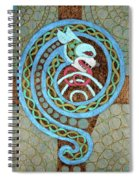 Dragon And The Circles Spiral Notebook