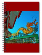 Dragon At The Gate Spiral Notebook