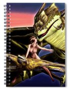 Dragon Chase Spiral Notebook