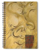 Dragon Double Happiness Spiral Notebook